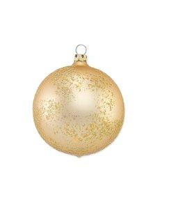 Kerstbal Hamerslag Goud
