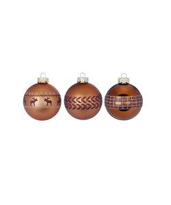 Winter Toffee Kerstballen - set van 3