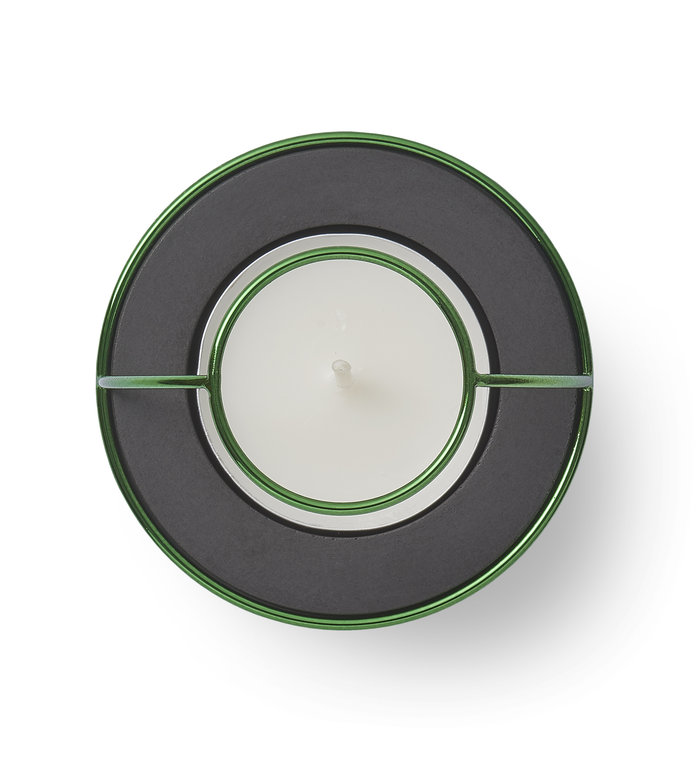 NAV Scandinavia Waxinelichthouder Flaming Rings Confetti - Set van 3