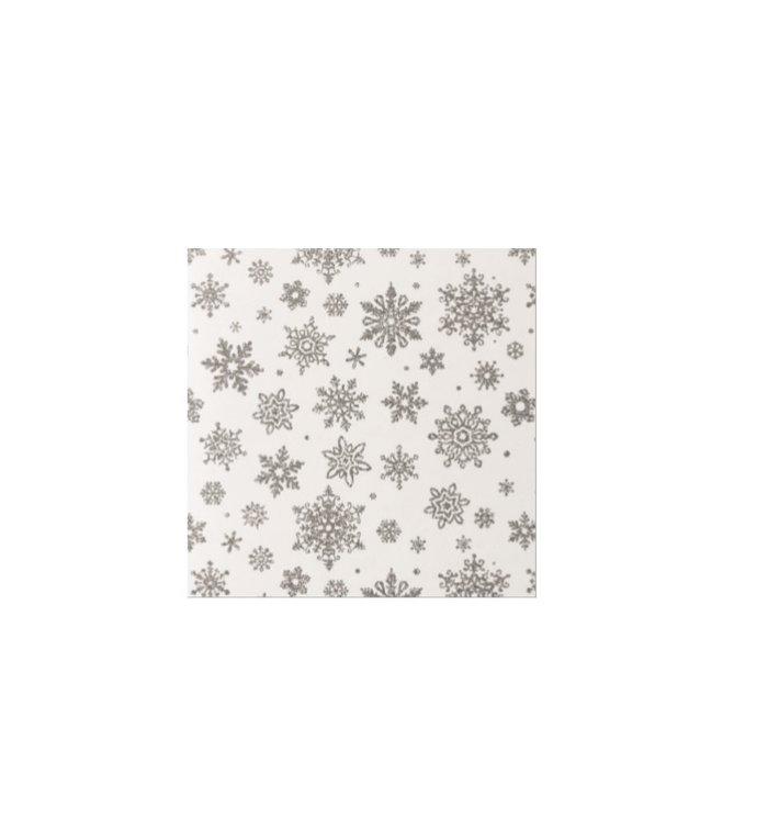 4 rollen inpakpapier voor kerstcadeaus 2m x 70 cm Winter Wonderland