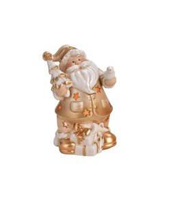 Kerstman Waxinelichthouder