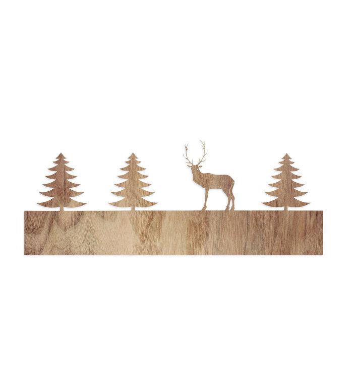 designimdorf Los motief voor Schaduwspel Hert in het bos waxinelichthouder groot