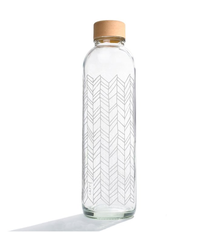 Carry Bottles Glazen Waterfles Structure of Life