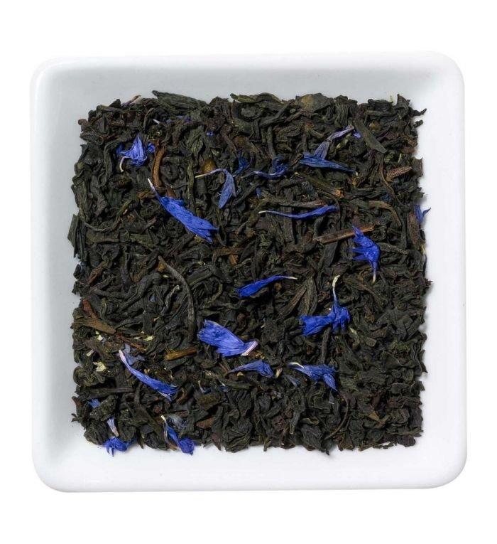 De T van Thee 100 gram Earl Grey blue flower zwarte thee