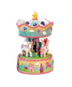 Unicorns Carrousel Muziekdoosje
