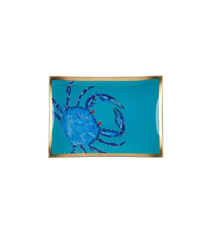 Giftcompany Glazen schoteltje met krab