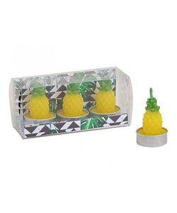 Ananas Waxinekaarsjes