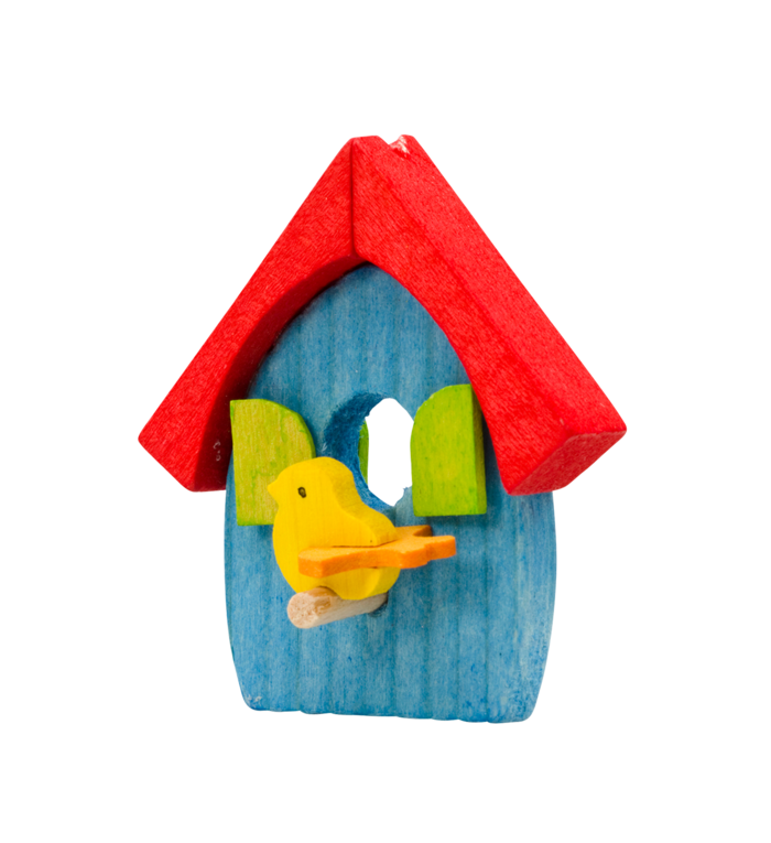 Graupner houten handgemaakt vogelhuisje