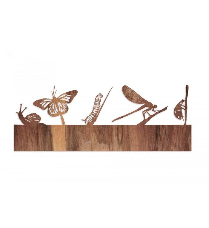 designimdorf Los motief voor Schaduwspel Dieren uit de Weide waxinelichthouder