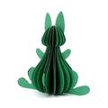 Only Natural fair trade gemaakte papieren Paashaas groen