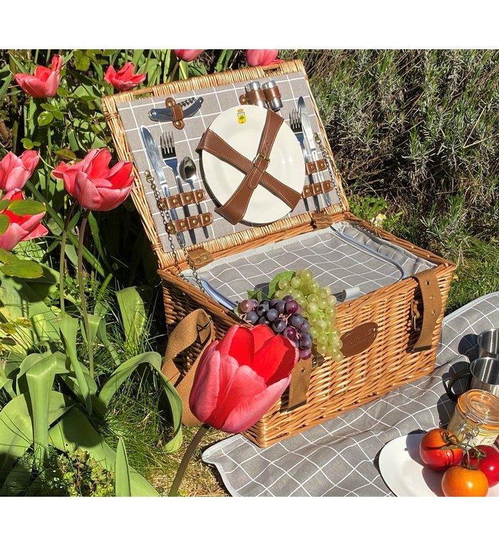 Les Jardins de la Comtesse complete picknickmand voor 2 personen Concorde