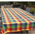 Les Jardins de la Comtesse picknickkleed met gekleurde ruitjes 280 x 140 cm