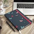 Sophie Allport stijlvol notitieboekje met vlinders A5 formaat