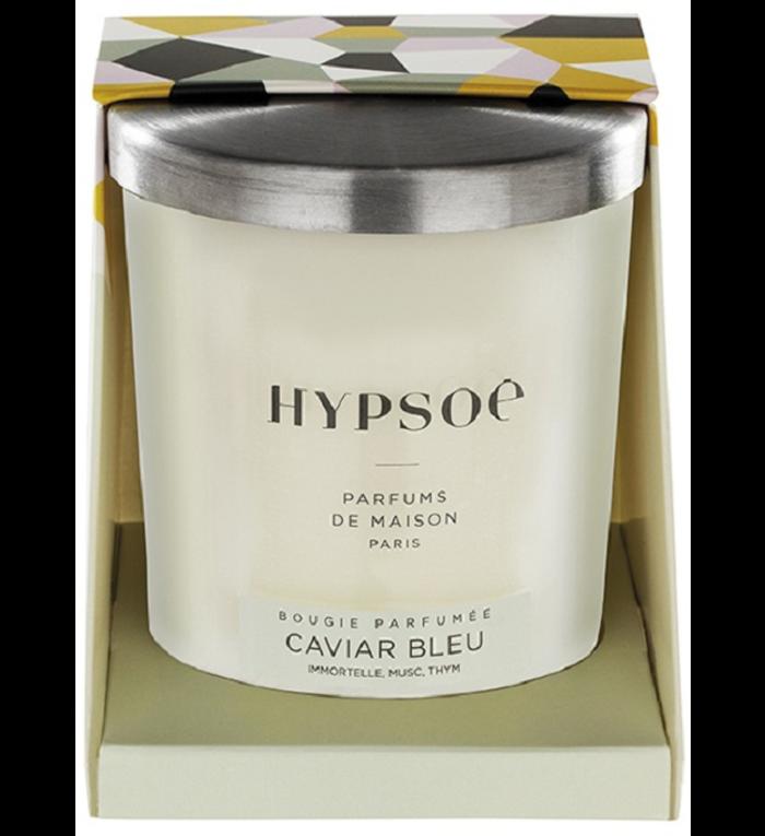 Hypsoé Geurkaars Caviar Blue 200 gram