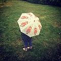 Rex London paraplu voor kinderen met Roodkapje