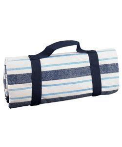 Picknickkleed Lichtblauw, Donkerblauw en Wit
