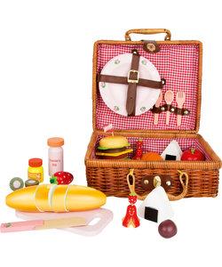Kinder Picknickmand met Deksel - Speelset