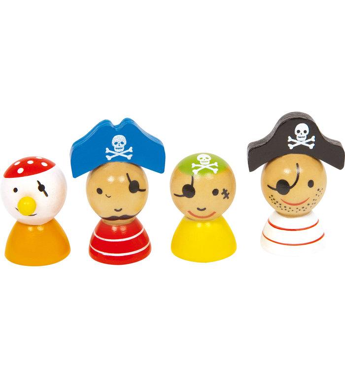 Small Foot piraten bordspel Mens erger je niet!