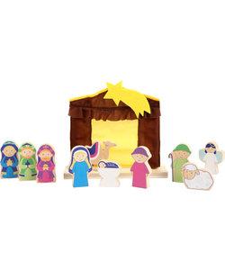 Kerststal voor Kinderen - Speelset