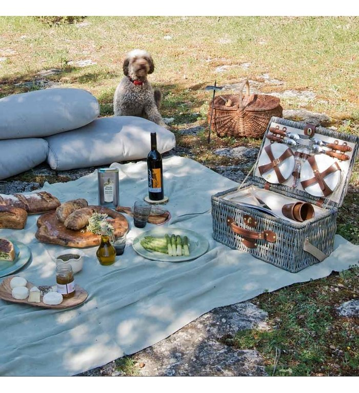 Les Jardins de la Comtesse complete picknickmand voor 4 personen Ardèche