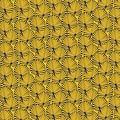 Vent de Bohème  tuinstoel - ligstoel - strandstoel van acaciahout met tropisch geel motief