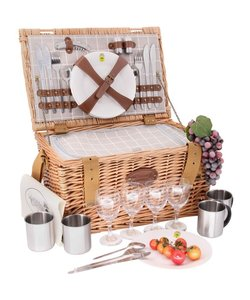 Picknickmand Provence vierpersoons