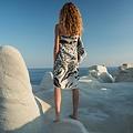 Sun of a Beach  vederlichte luipaard strandhanddoek - hamamdoek