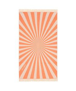 Sunburst Oranje Hamamdoek - Strandlaken