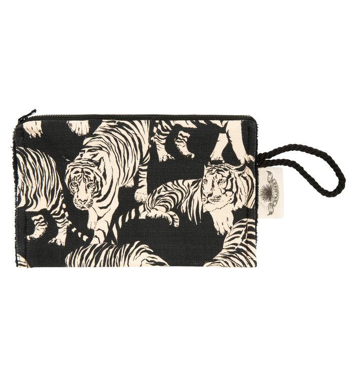 Sun of a Beach  strand clutch met tijgers