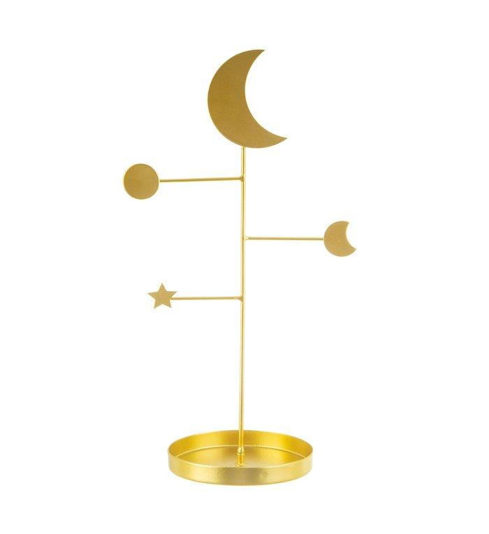 Sass & Belle gouden galaxy sieradenstandaard uit de Celestial collectie