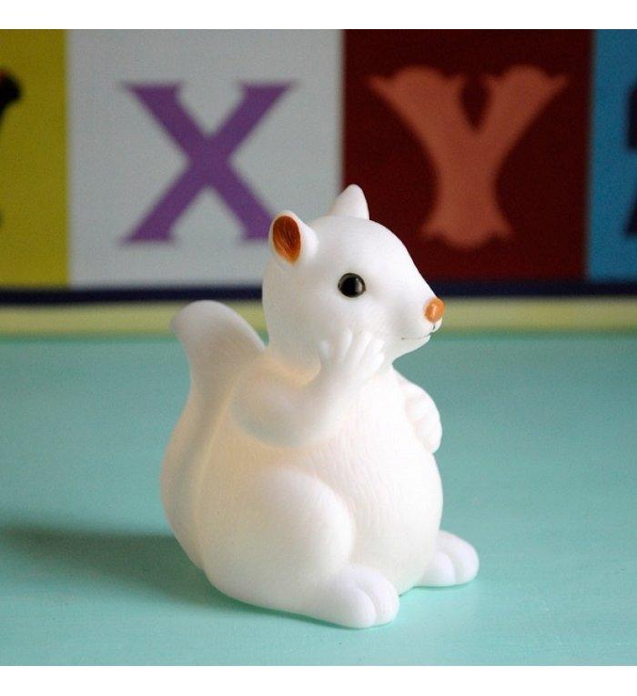 Rex London wit baby eekhoorn nachtlampje