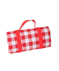 Picknickkleed Rood Wit Geblokt XL