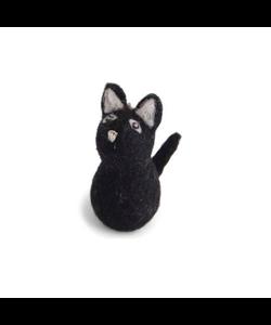 Zwarte Kat Halloween Hangertje
