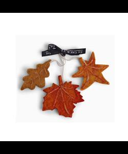 Kleurige Herfstbladeren - set van 3