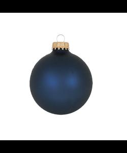 Kerstballen Donkerblauw Mat
