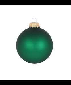 Kerstballen Groen Mat