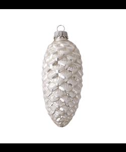 Zilveren Dennenappels Kerstboomhangers