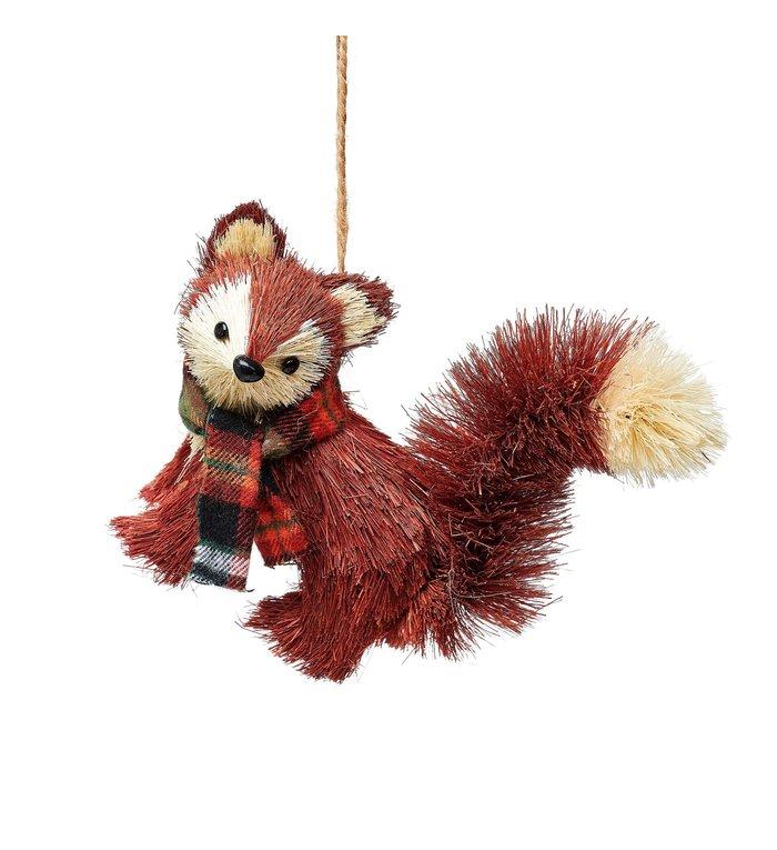 Sass & Belle Vos kerstboomdecoratie van geborsteld materiaal