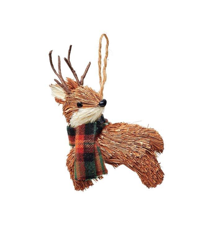 Sass & Belle Hert kerstboomdecoratie van geborsteld materiaal