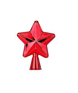Ster Kerstboom Piek Rood