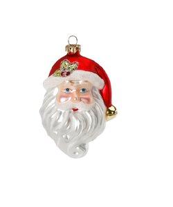 Kerstman Gezicht Kerstboomhanger