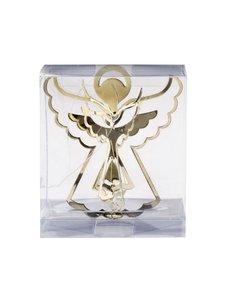Set van 3 - Gouden Engeltjes 3D Kersthangers
