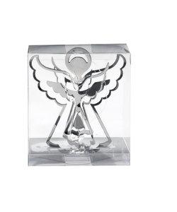Set van 3 - Zilveren Engeltjes 3D Kersthangers