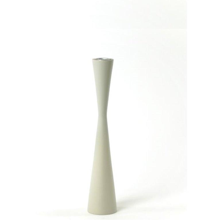Kinta Kandelaar Zandloper 25 cm Off White