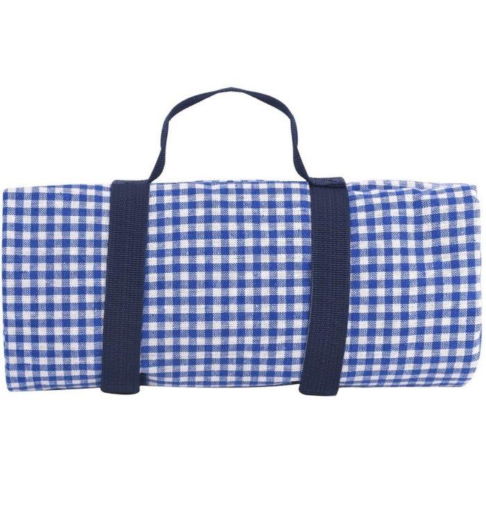 Les Jardins de la Comtesse picknickkleed met blauwe ruitjes 280 x 140 cm