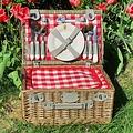 Les Jardins de la Comtesse complete picknickmand voor vier personen Loire