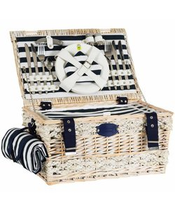 Picknickmand Bretagne vierpersoons