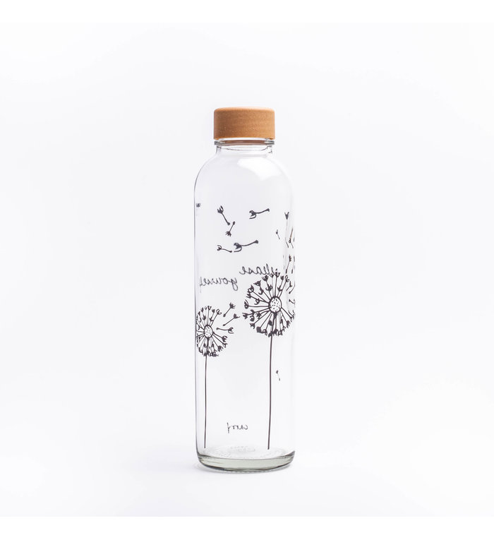 Carry Bottles Glazen Drinkfles Release Yourself 0.7 liter