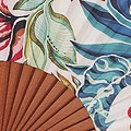 Vent de Bohème  hand waaier met Bamboo design