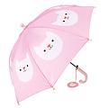 Rex London roze paraplu voor kinderen met schattige poes Cookie